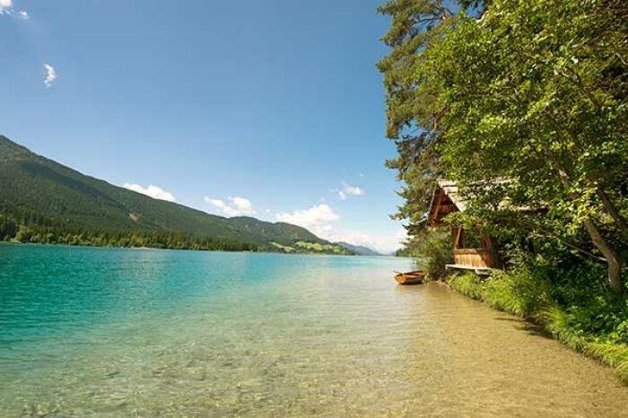 Naturerlebnis Weissensee erleben im Urlaub in Kärnten