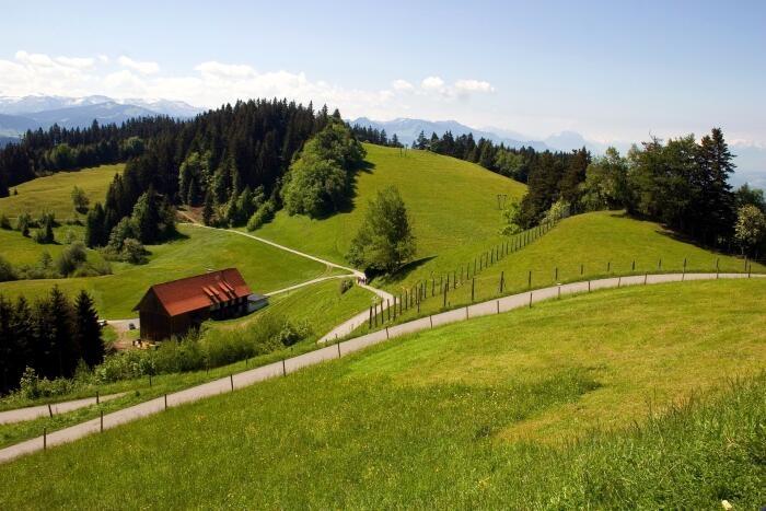 Landschaft am Vorarlberg